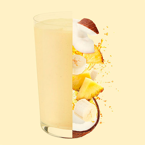 tropi colada fruits smoothie
