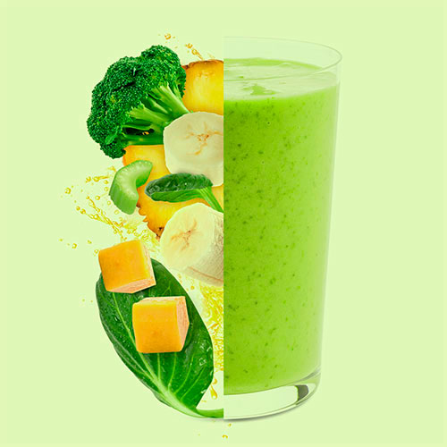 iqf vegetables smoothie