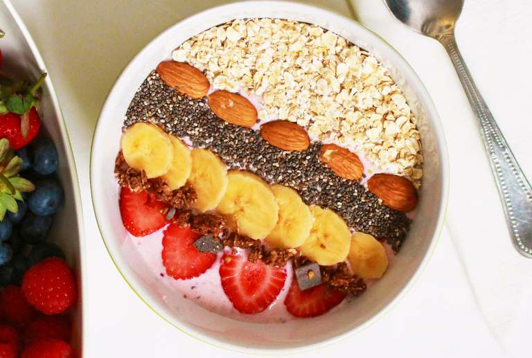 Smoothie bowl, another way to enjoy your favorite drink