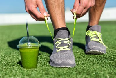 What should you eat before playing a sport?