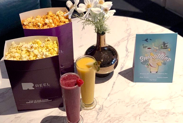 Cinema Smoothies, a different way to enjoy the cinema