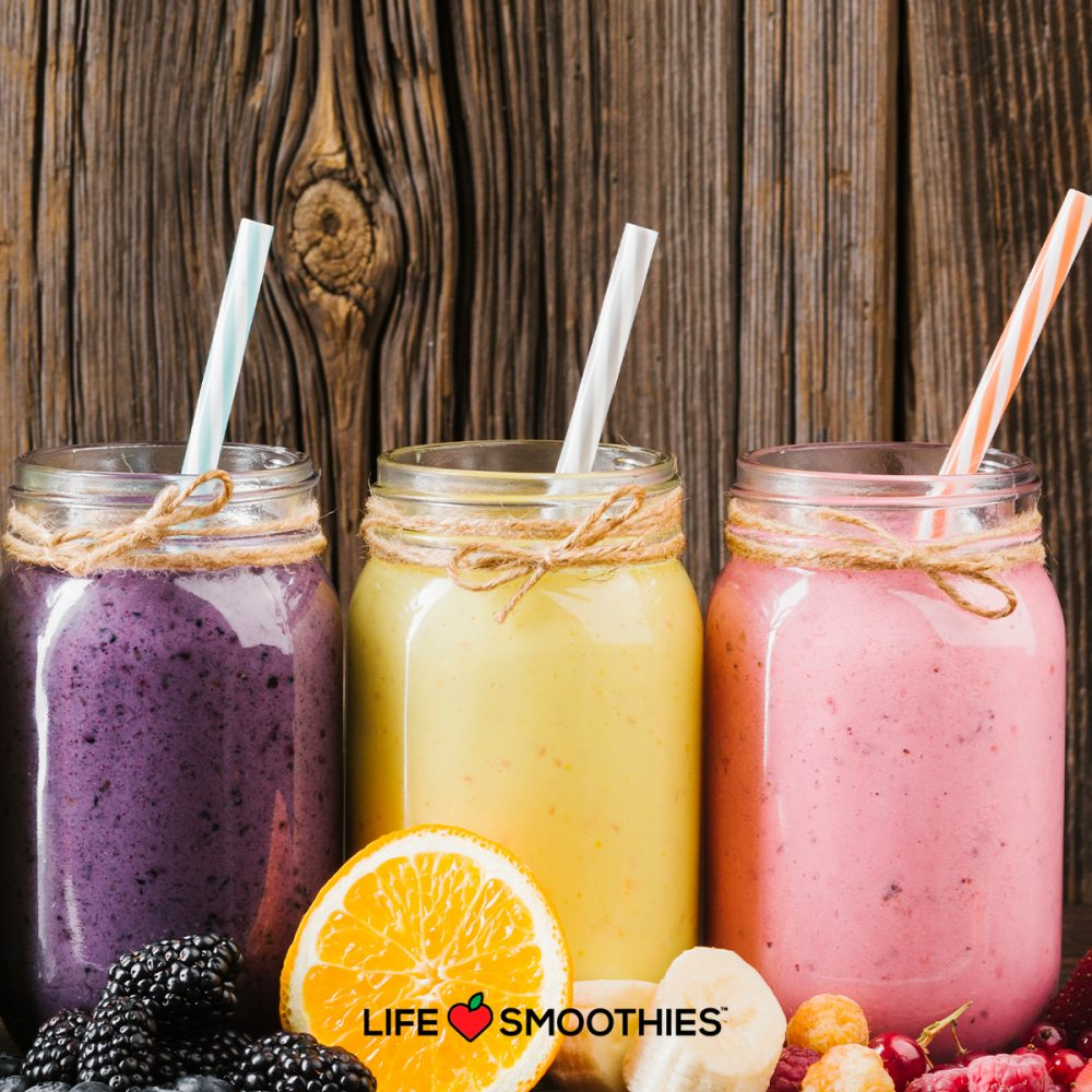 New years Smoothies