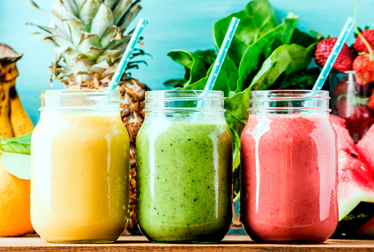 Chromotherapy with your smoothies, experience full colour