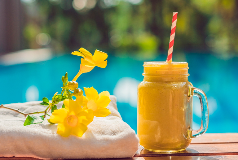 Travel through the flavours of our smoothies, discover the destinations