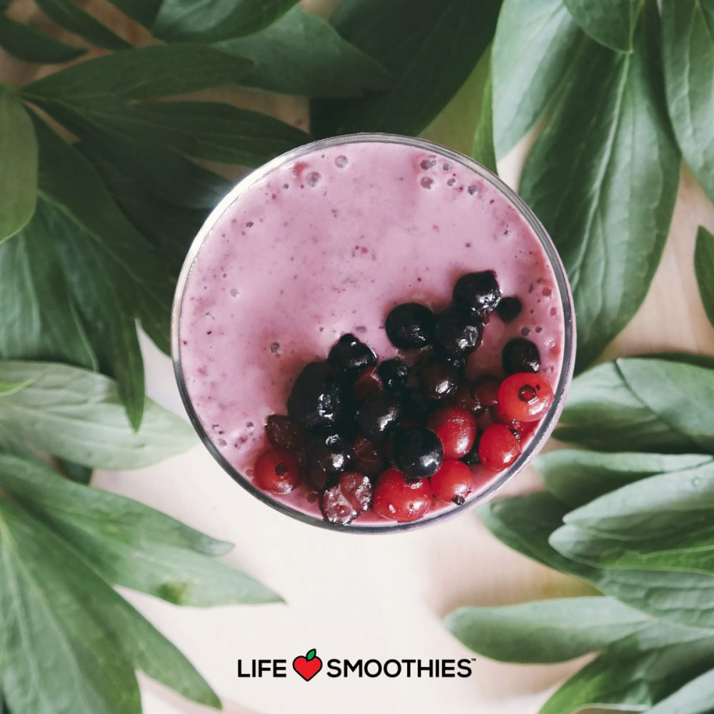 Raspberry Love, the smoothie that all palates love