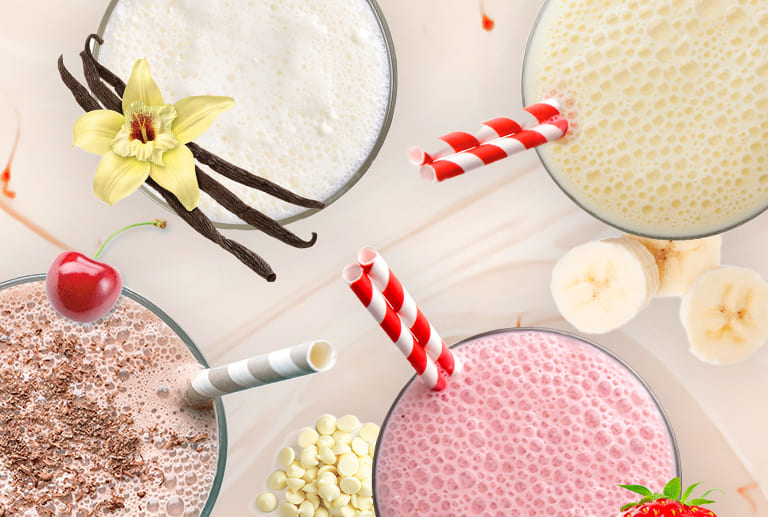 Introducing our new Shakes!